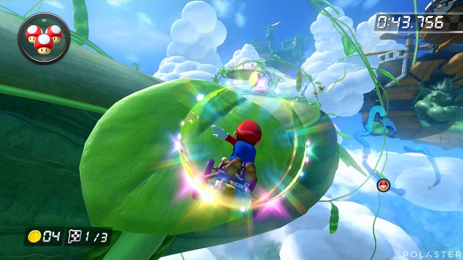 Mario Kart 8 - Ruta Celeste