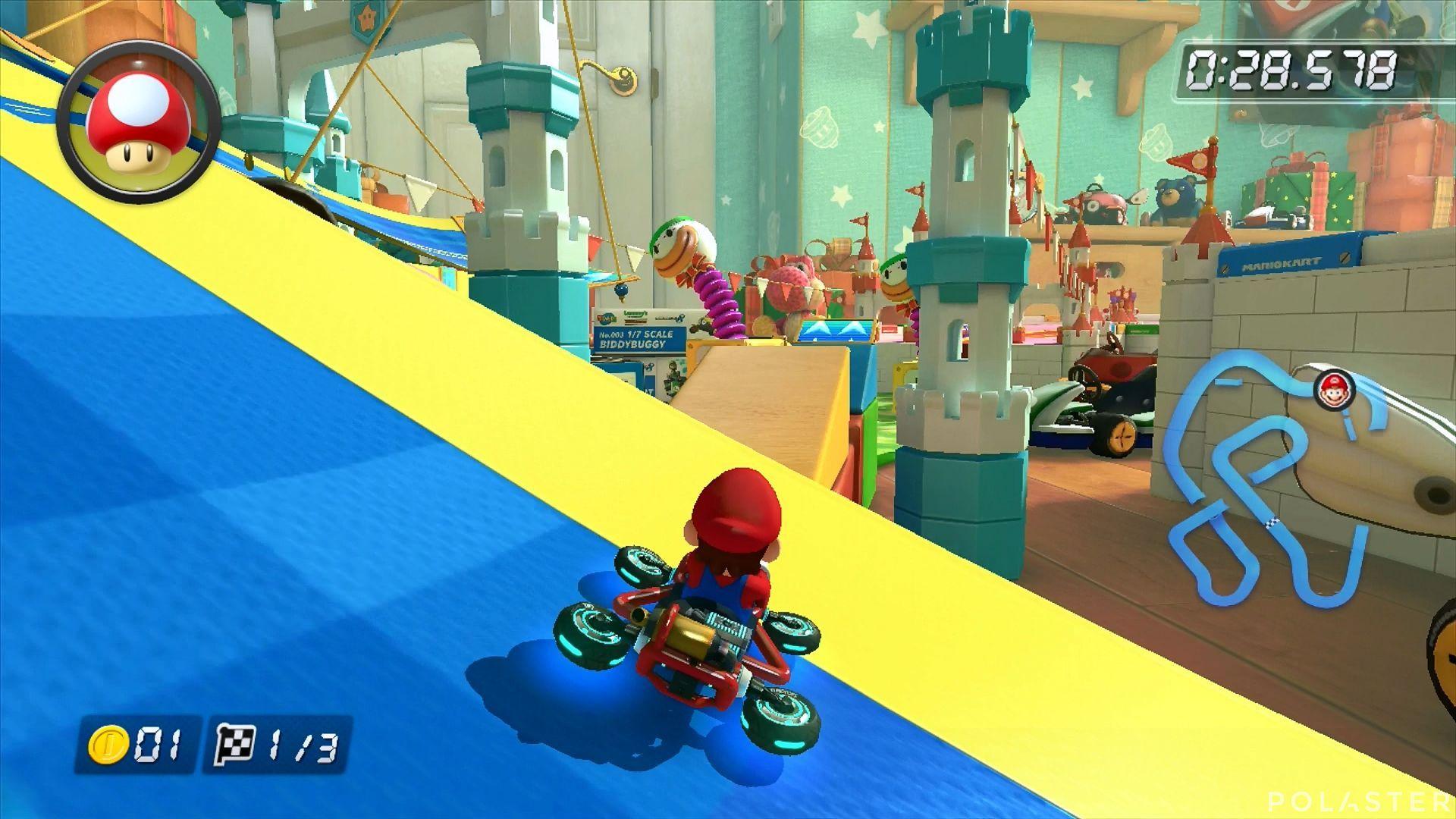 Mario Kart 8 - Ruta del Lazo