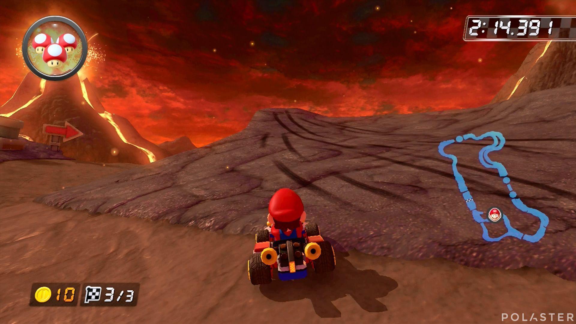 Mario Kart 8 - Volcán Gruñón